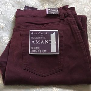 Plum Colored Jeans!